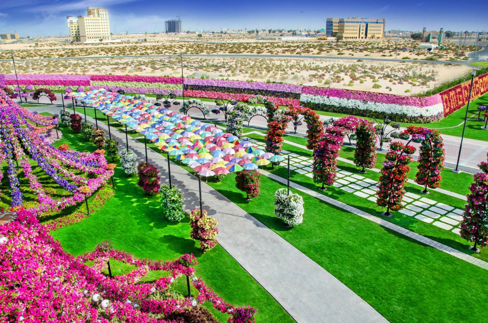 Vườn hoa kì diệu ở Dubai