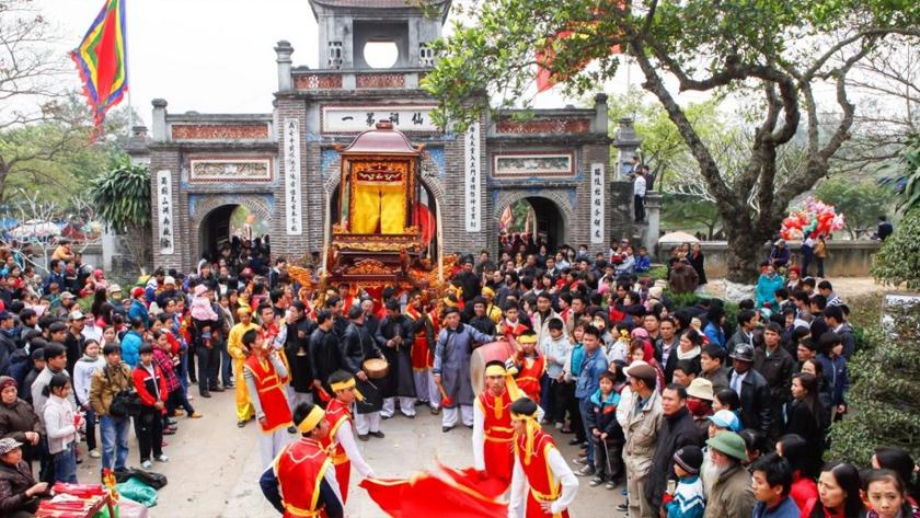 Lễ hội Đền Gióng Sóc Sơn