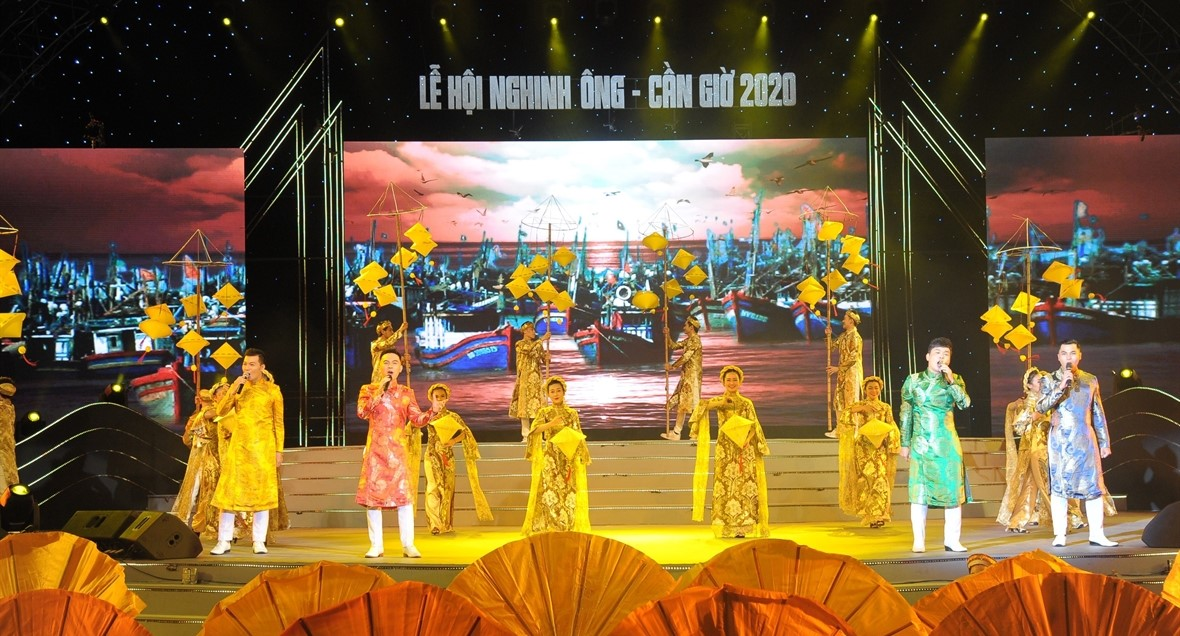 Lễ Nghinh Ông - một trong các lễ hội ở Hồ Chí Minh nổi tiếng