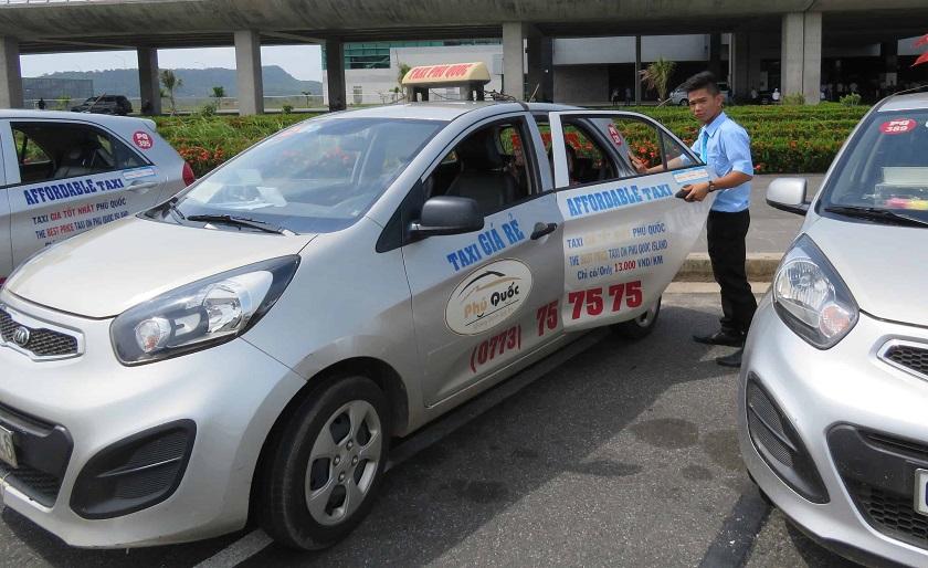 Dịch vụ taxi trên đảo Phú Quốc