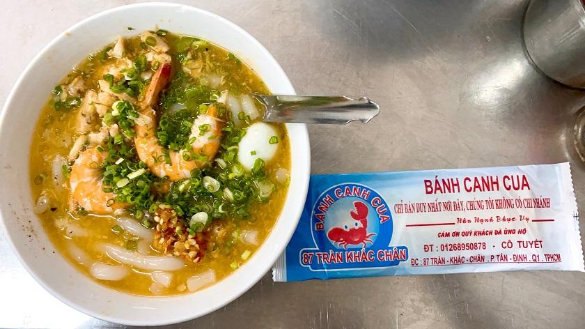 Bánh canh cua 87 - quán ngon Sài Gòn nổi tiếng