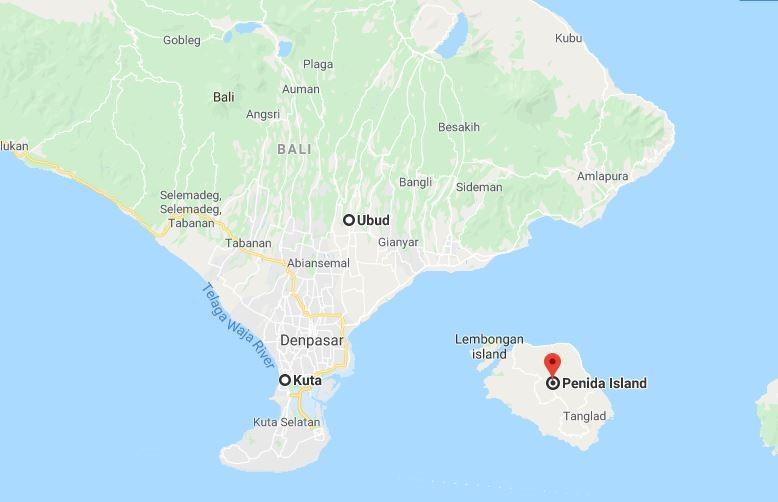Bản đồ du lịch Bali