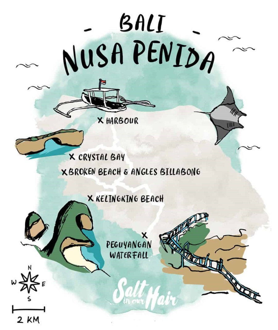 bản đồ Penida Island