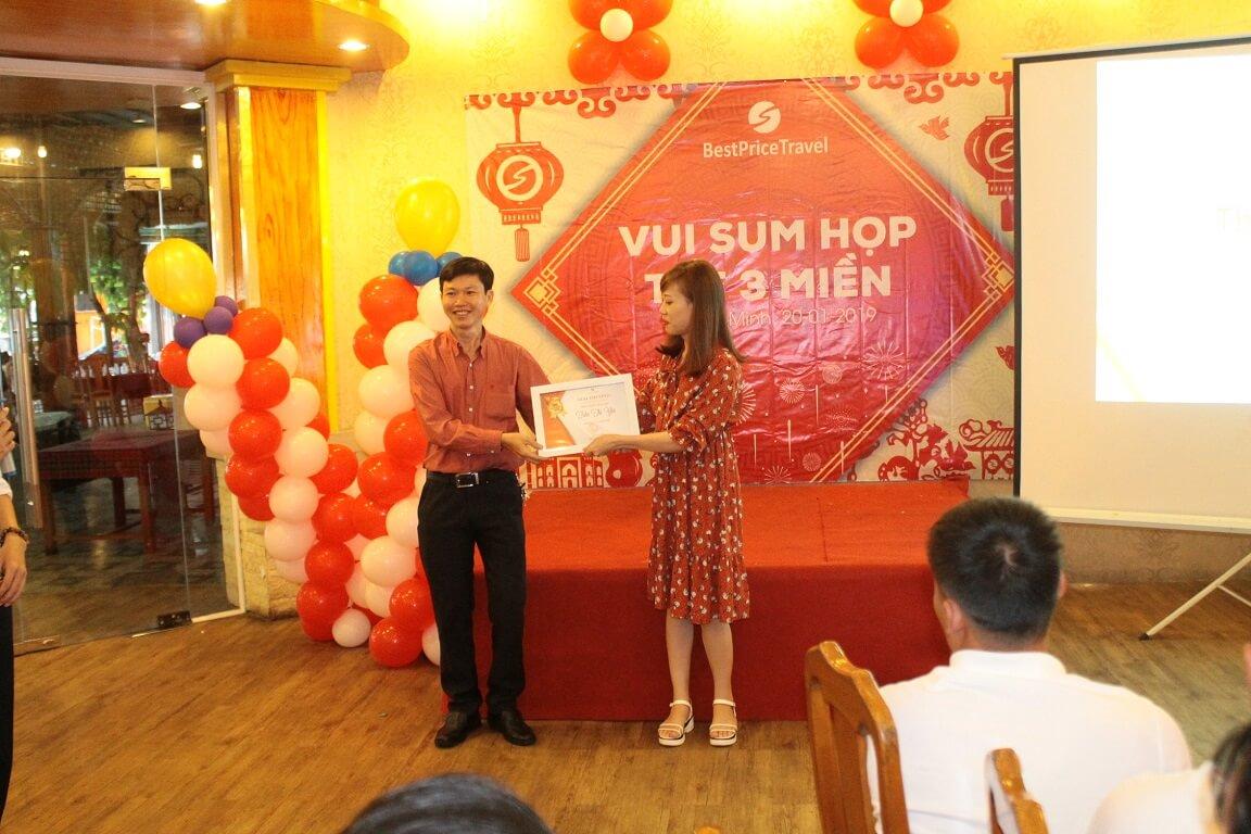 Đại diện có thành tích xuất sắc cơ sở Hồ Chí Minh