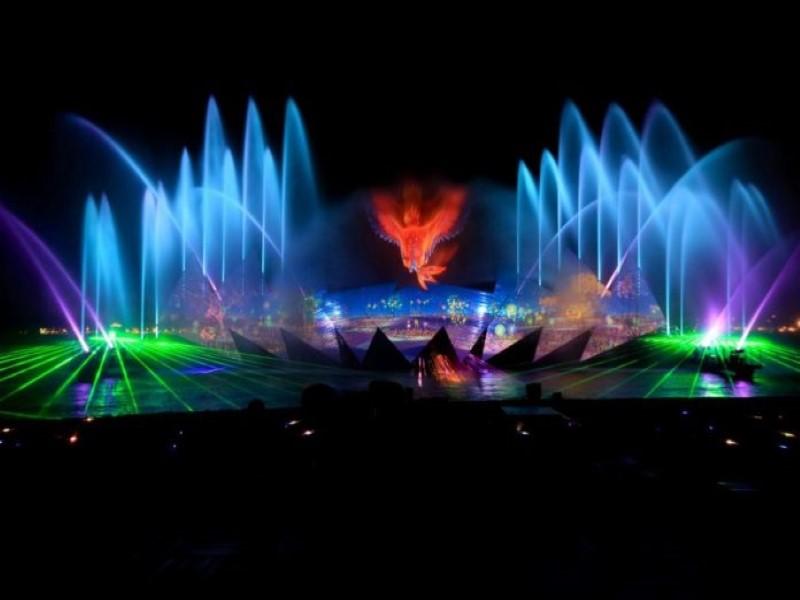 Wings of time – Sự kết hợp hoàn hảo của nước – ánh sáng – âm nhạc – hình ảnh