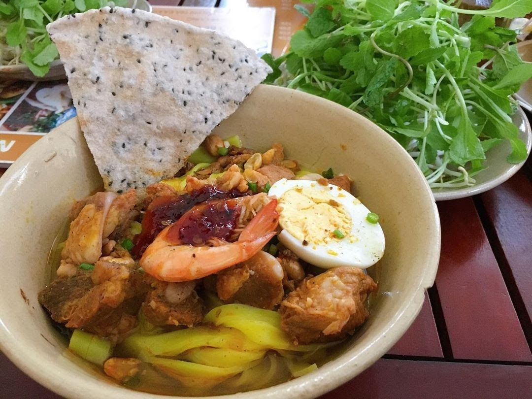 Mì Quảng là món ăn sáng của Sài Gòn