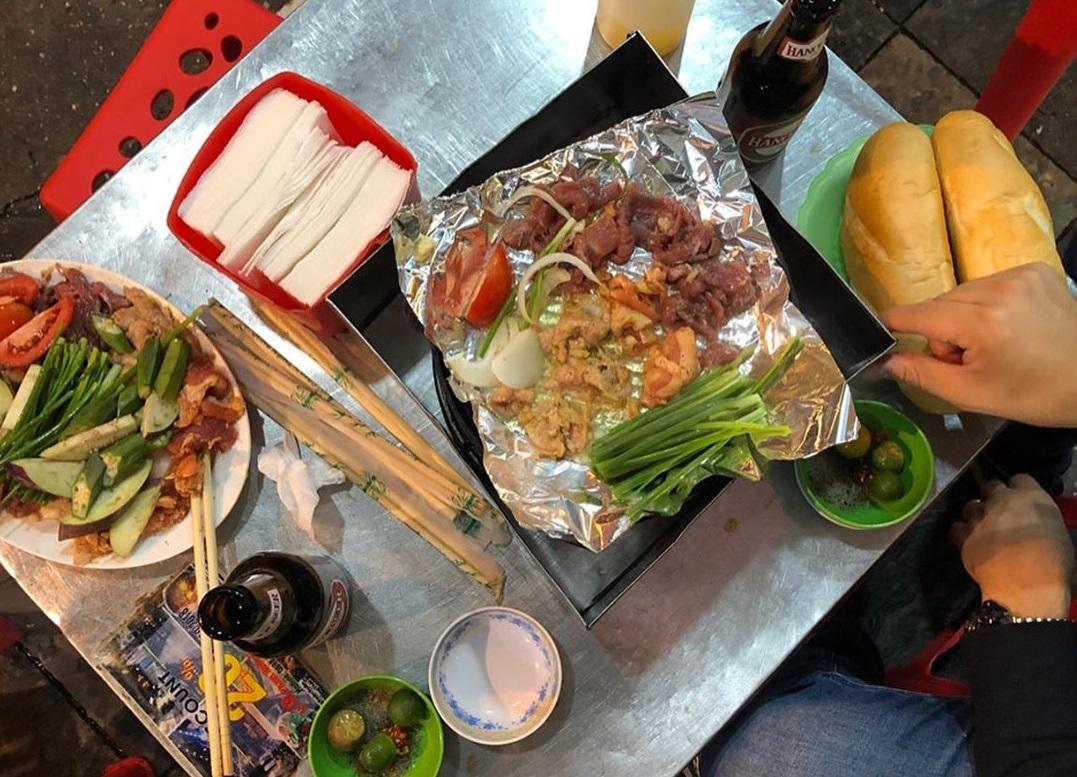 Grilled beef roast Xuan Xuan