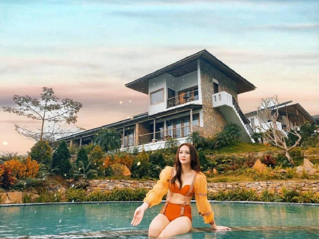 Bakhan Village Resort với vẻ đẹp hùng vĩ nhưng không kém phần nên thơ