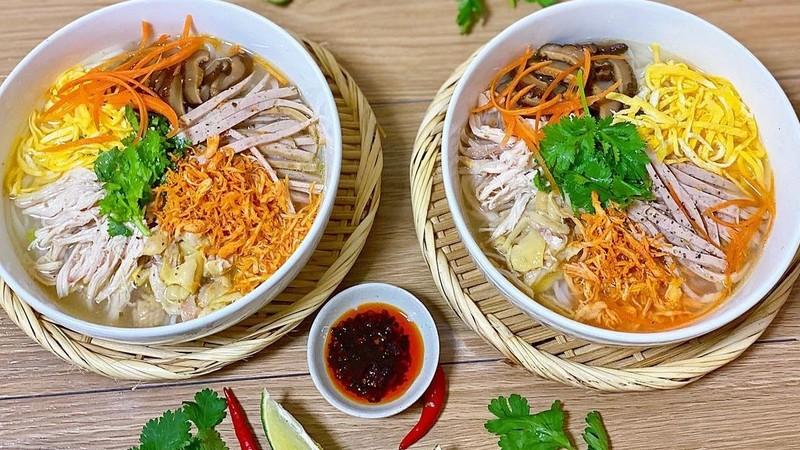 Bún thang - món ăn ngon Hà Nội