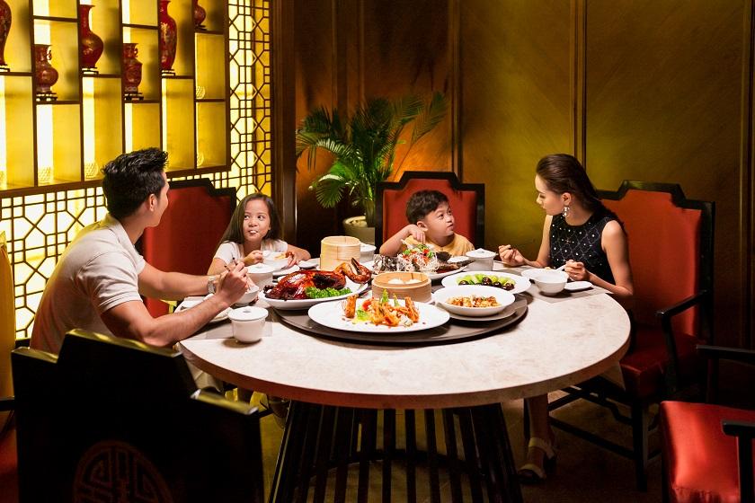 Bữa ăn Trung Hoa tại nhà hàng Bách Giai