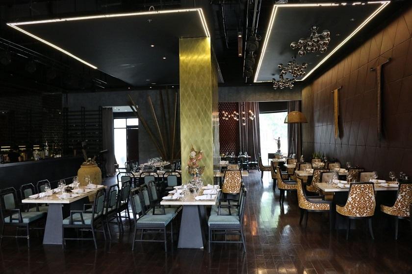 Không gian tại nhà hàng Bow Thai