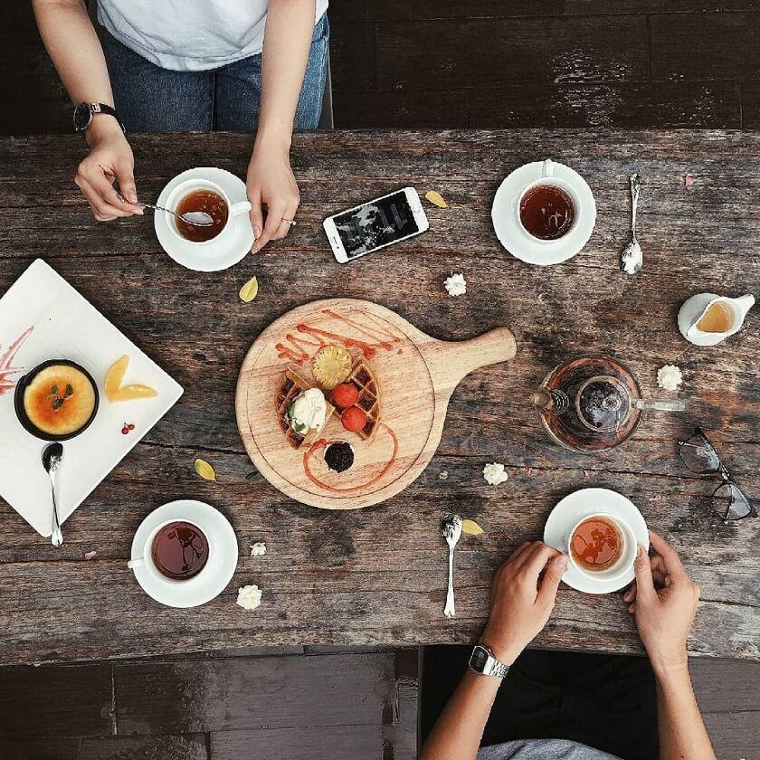Món ăn mang phong cách Ý tại 6 Degrees