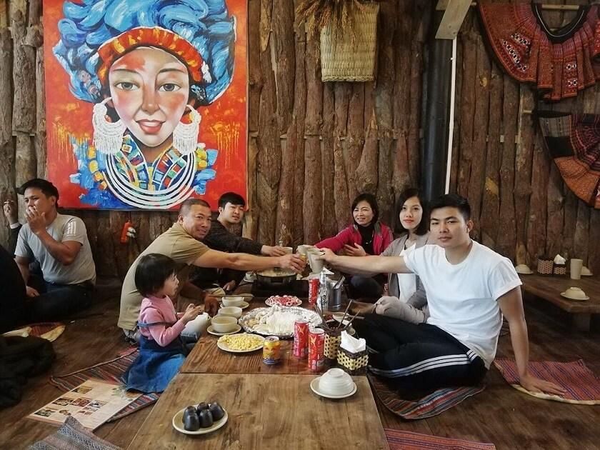 Bữa ăn gia đình tại Pao Quán