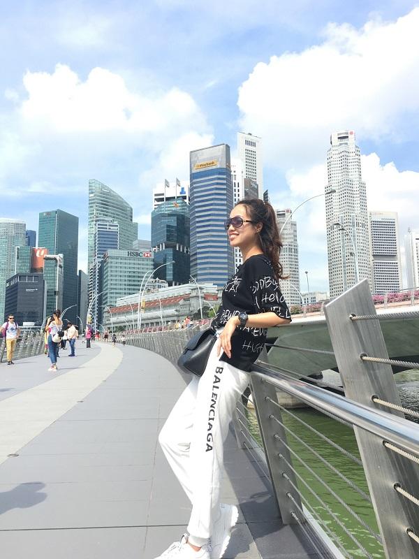 Check-in tại Singapore