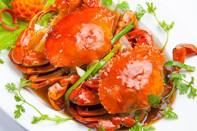 Cua sốt ớt - Đặc sản của Singapore