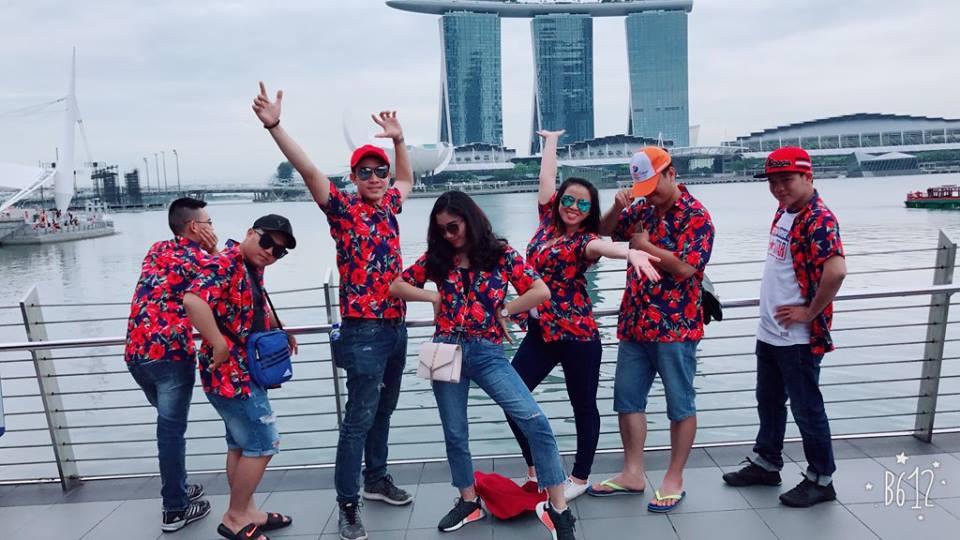 Khách hàng của BestPrice trong tour Singapore