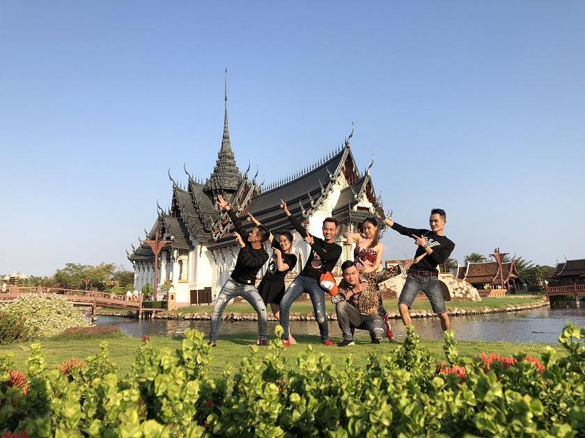 Check-in tại Muang Boran