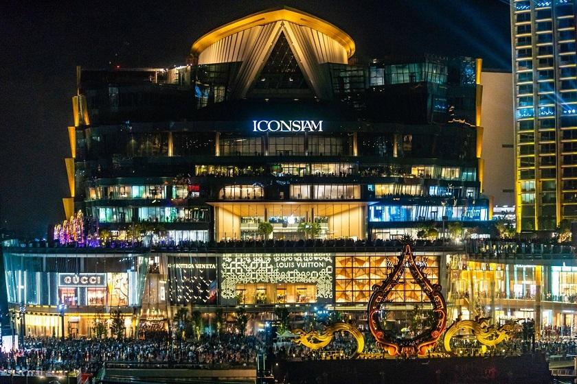 Trung tâm thương mại Iconsiam lộng lẫy ánh đèn