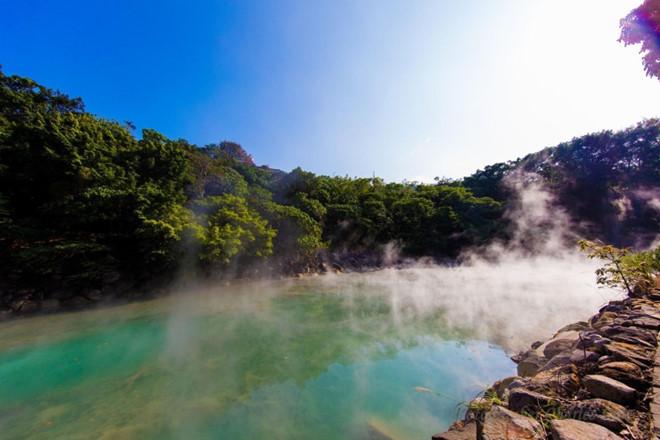 Trải nghiệm tắm suối nước nóng tại Đài Loan