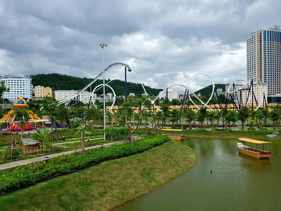 Công viên DragonPark với nhiều trò chơi hấp dẫn