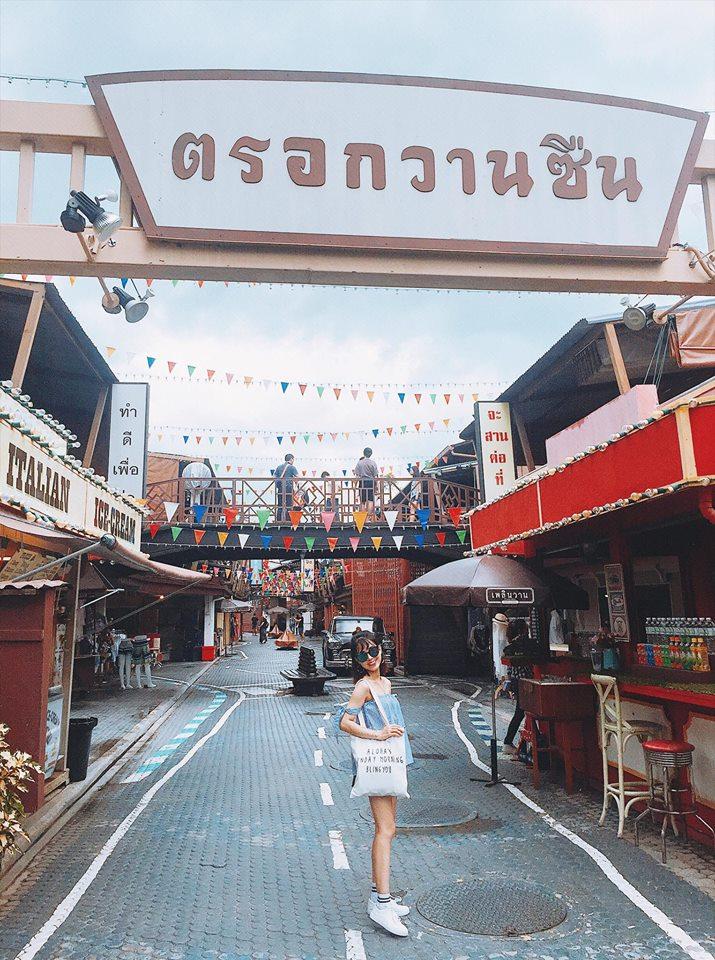 Một góc ở Bangkok
