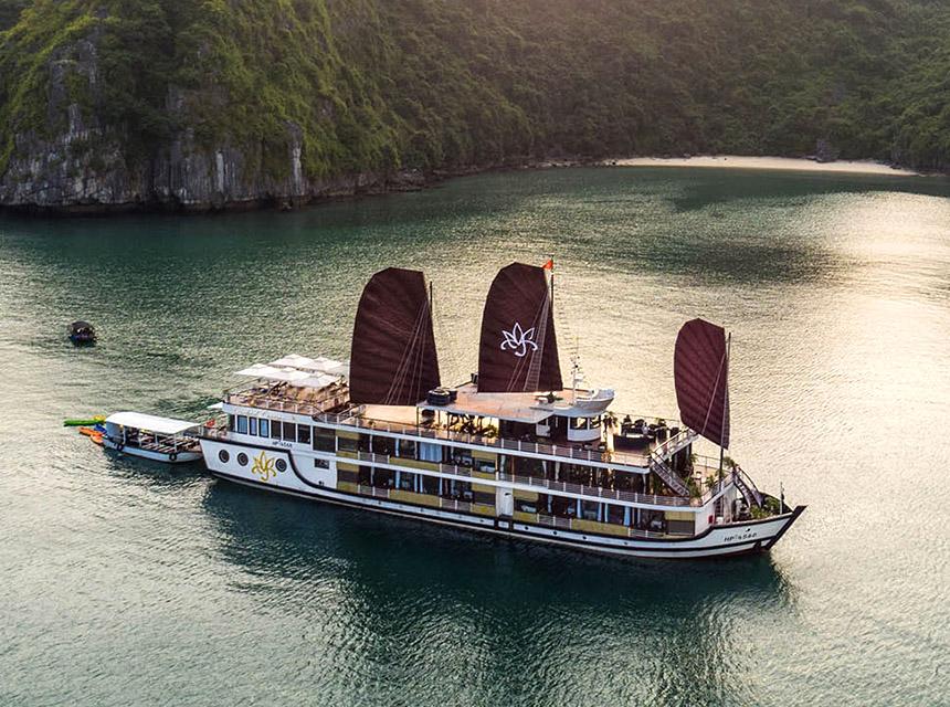 Du thuyền Orchid – du thuyền mới nhất Vịnh Hạ Long