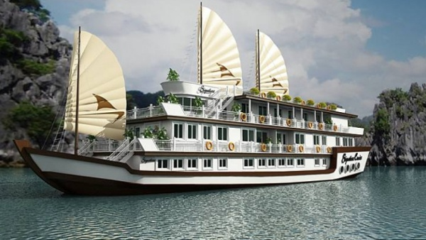 Du thuyền Signature – con tàu đẹp nhất Vịnh Hạ Long