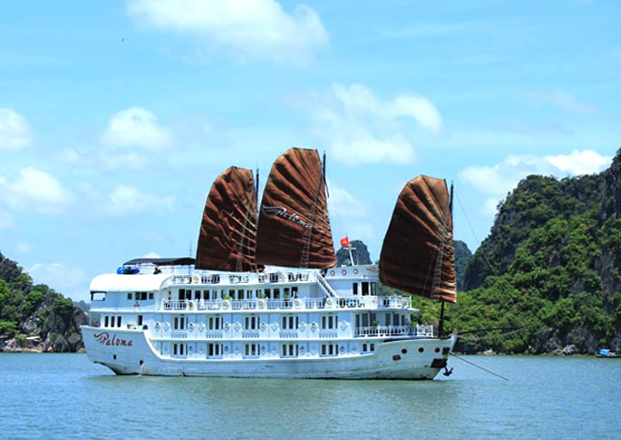 Du thuyền Paloma – lựa chọn cho những vị khách thích sự cổ điển