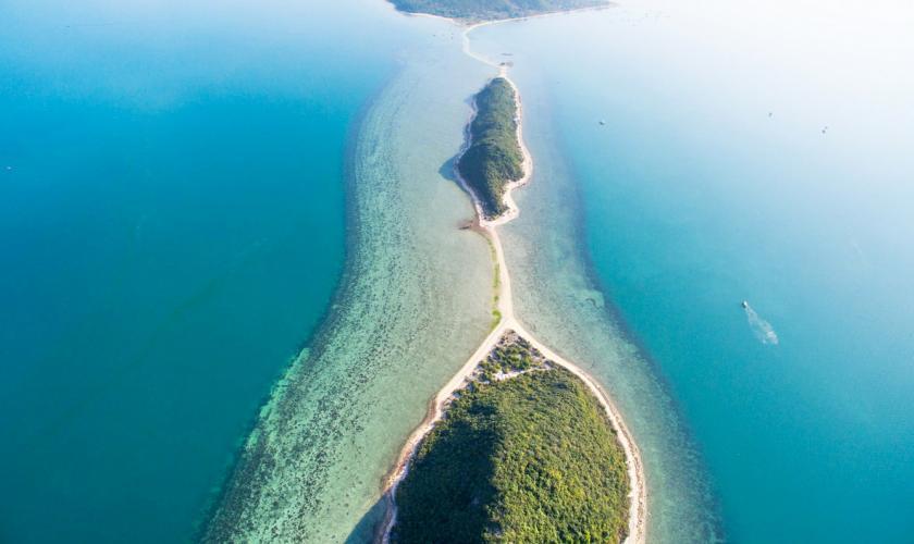 Vẻ đẹp độc đáo của đảo Điệp Sơn