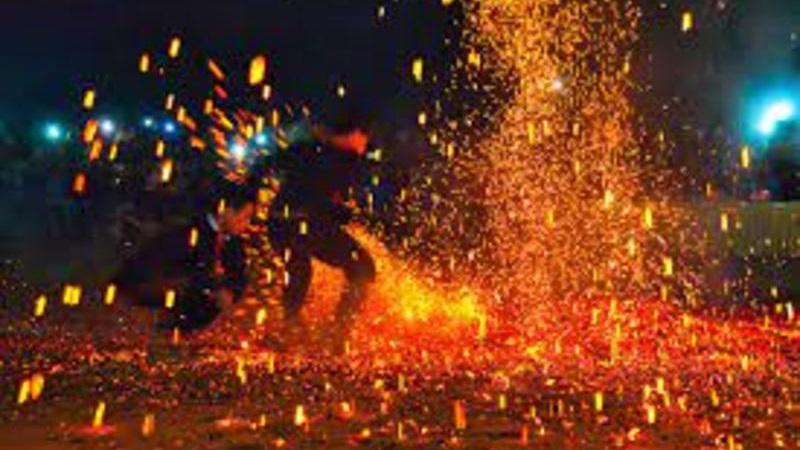 Lễ hội nhảy lửa dân tộc Pà Thẻn Hà Giang