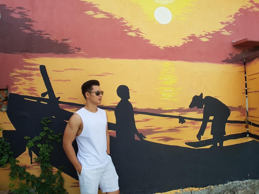 Check in tại làng bích họa Tam Thanh Hội An