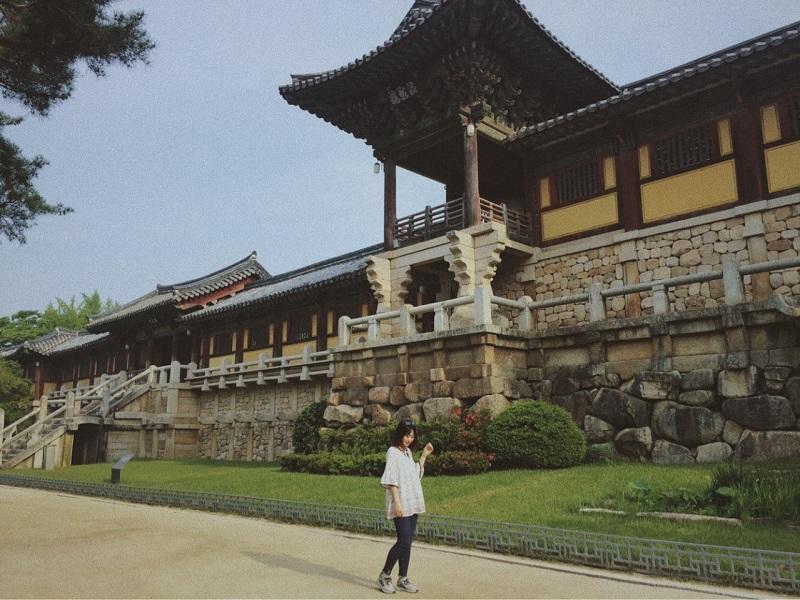 Cung điện Gyeongbok – nơi sinh sống của các vị vua Hàn Quốc thời xưa