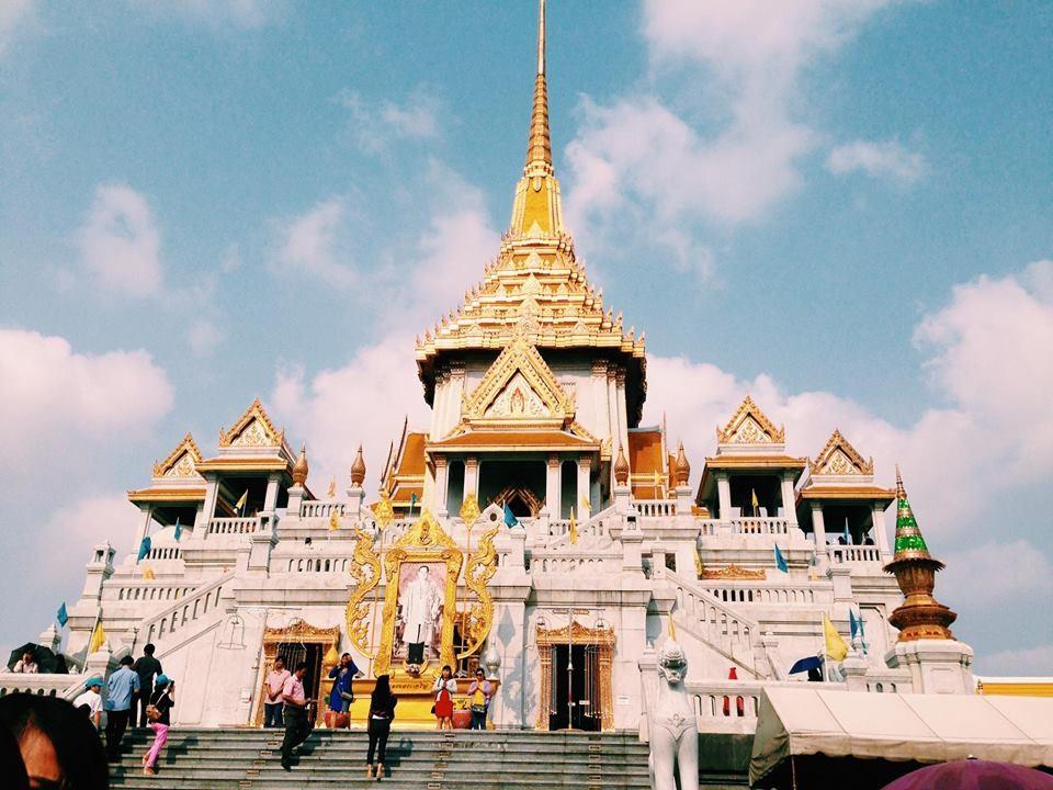 Chùa Phật Vàng với nét kiến trúc lung linh