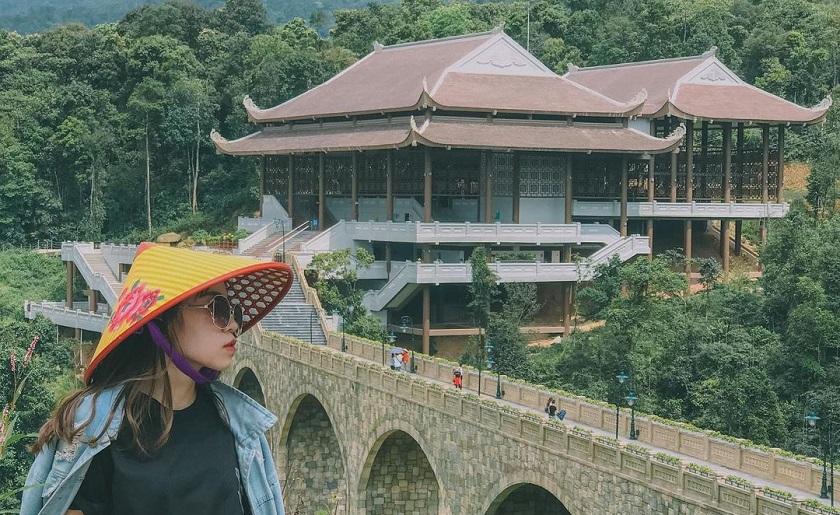 check - in tại Yên Tử