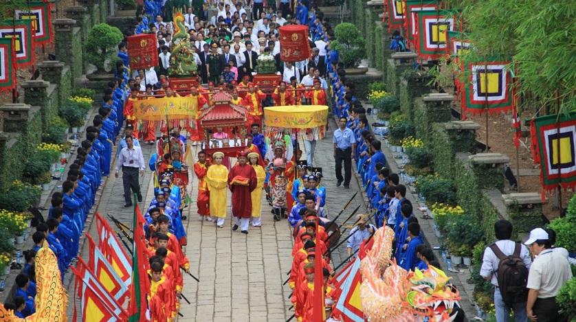 Giỗ tổ Hùng Vương - lễ hội đền Hùng