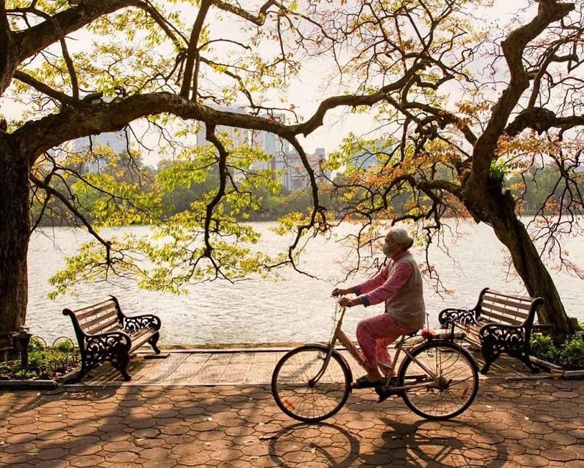 Một góc phố đi bộ Hồ Gươm - Hà Nội