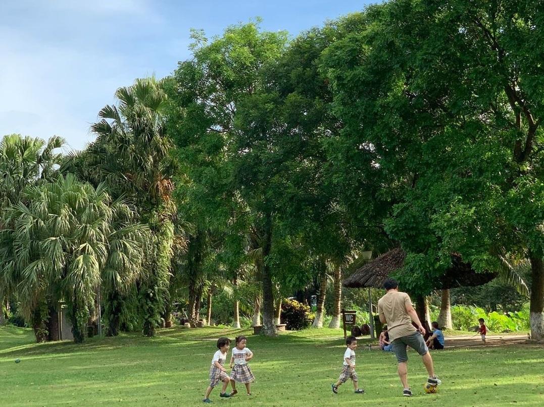 Ecopark là địa điểm vui chơi cuối tuần ở Hà Nội dành cho mọi lứa tuổi