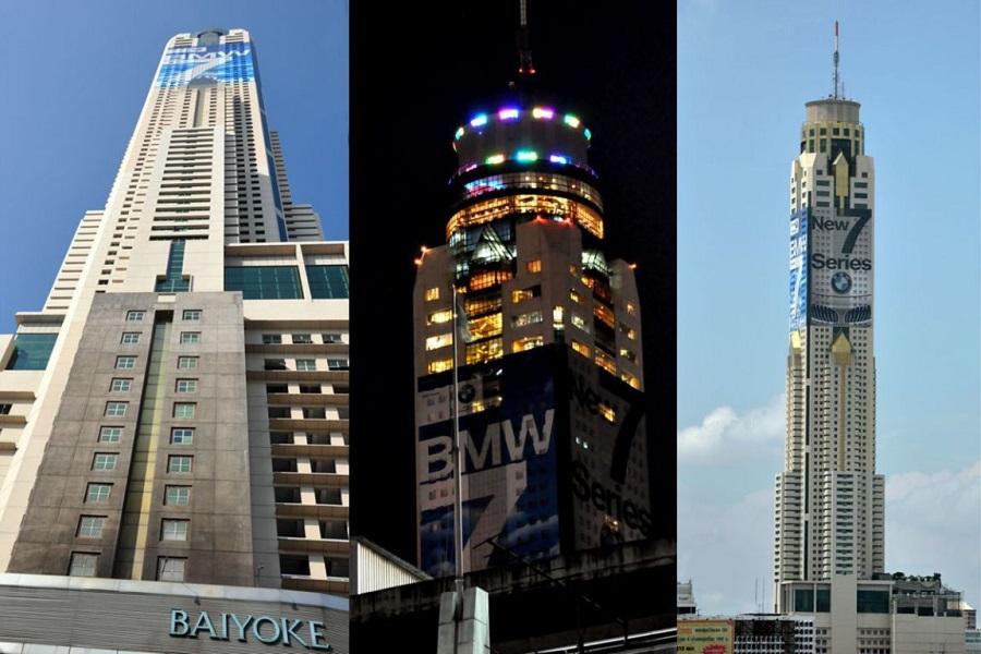 Nhà Hàng Xoay 86 tầng cao nhất thủ đô Bangkok