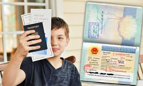 Thủ tục khi trẻ em đi máy bay cùng người thân không phải bố mẹ