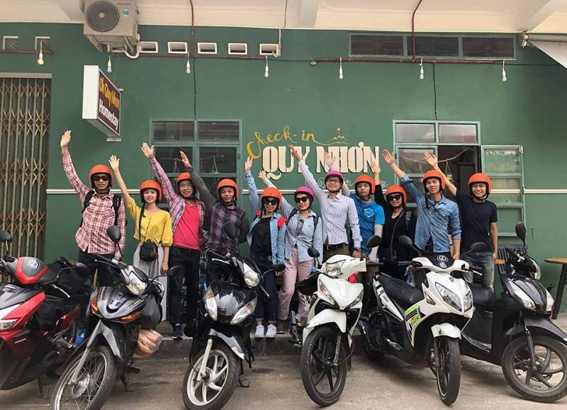 Xe máy là phương tiện di chuyển từ Quy Nhơn đến Phú Yên được yêu thích nhất