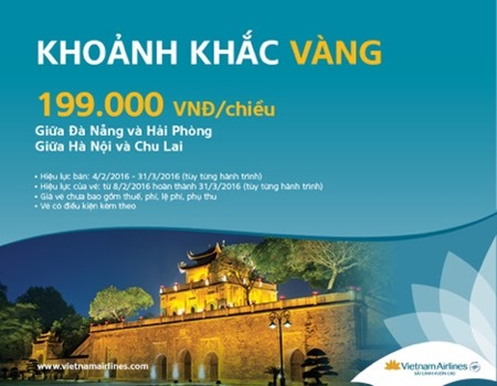 Chương trình khoảnh khắc vàng của Vietnam Airlines