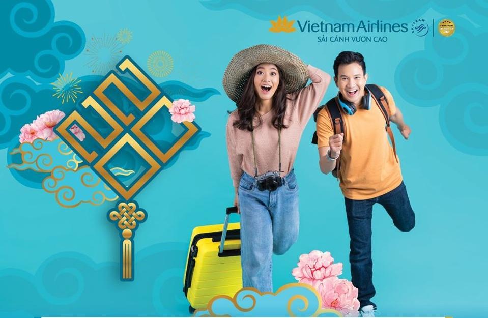 Vietnam Airlines ưu đãi vé máy bay Tết chỉ từ 499k