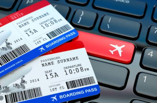 Đổi tên, nhượng vé máy bay