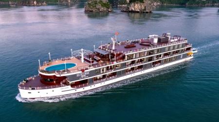 Combo Cát Bà 3N2Đ: Du thuyền Heritage 5* + Hôtel Perle D'Orient Cát Bà - MGallery 5*