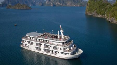 Combo 3N2Đ: Du thuyền Paradise Elegance 5* + Khách sạn Wyndham Legend Hạ Long 5*
