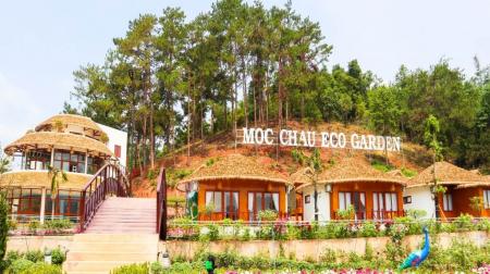 Combo Mộc Châu 3N2Đ: Mộc Châu Eco Garden Resort 4* + Xe limousine khứ hồi