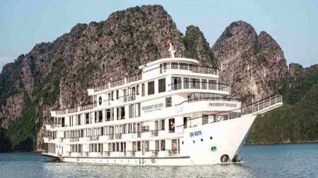 Free & Easy 3N2Đ: Du thuyền President 5* + Khách sạn Paradise Suites 4*