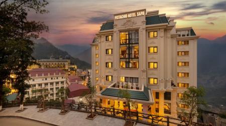 Combo Sapa 2N1Đ: Pistachio Hotel SaPa 4* + Xe cao cấp Limousine
