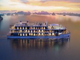 Combo 3N2Đ Du thuyền Heritage + Khách sạn Cát Bà Island Resort & Spa