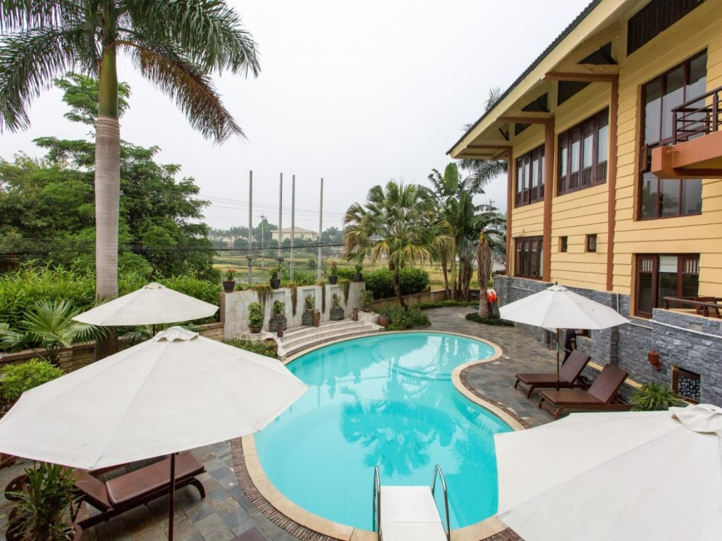 Bể bơi Mai Châu Lodge